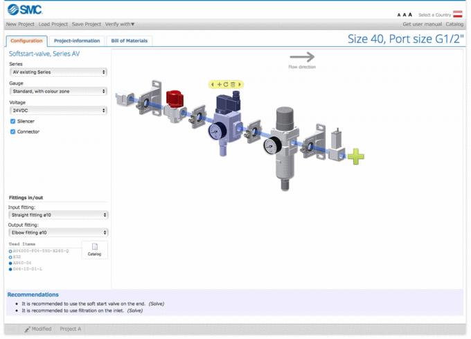 Un configurateur de produits interactif en association avec la technologie du Big Data pour SMC