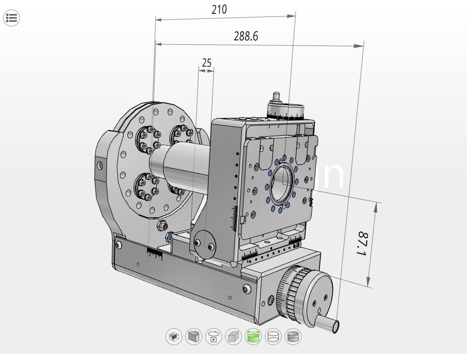 modelos CAD de UHV Design
