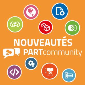 Connaissez-vous les nouveautés de PARTcommunity ?