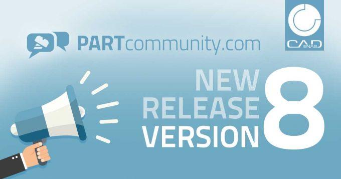 Quoi de neuf dans la version 8 de PARTcommunity ?