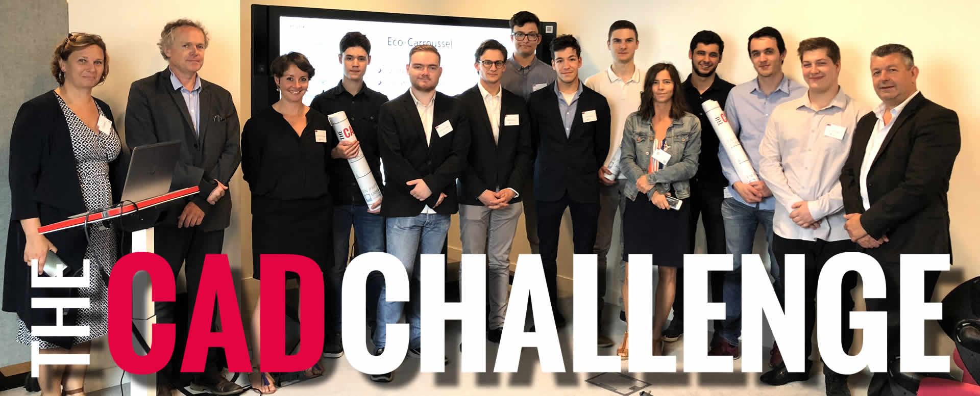 Un franc succès pour la première édition du CAD Challenge