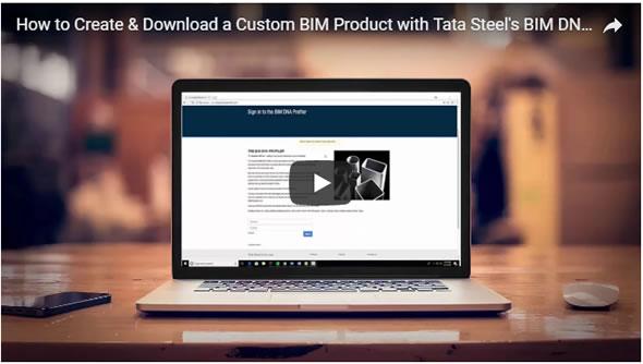 """Tata Steel lance son premier outil BIM, l' """"ADN Profiler"""" ainsi qu'un catalogue de produits en 3D BIM créé par CADENAS"""