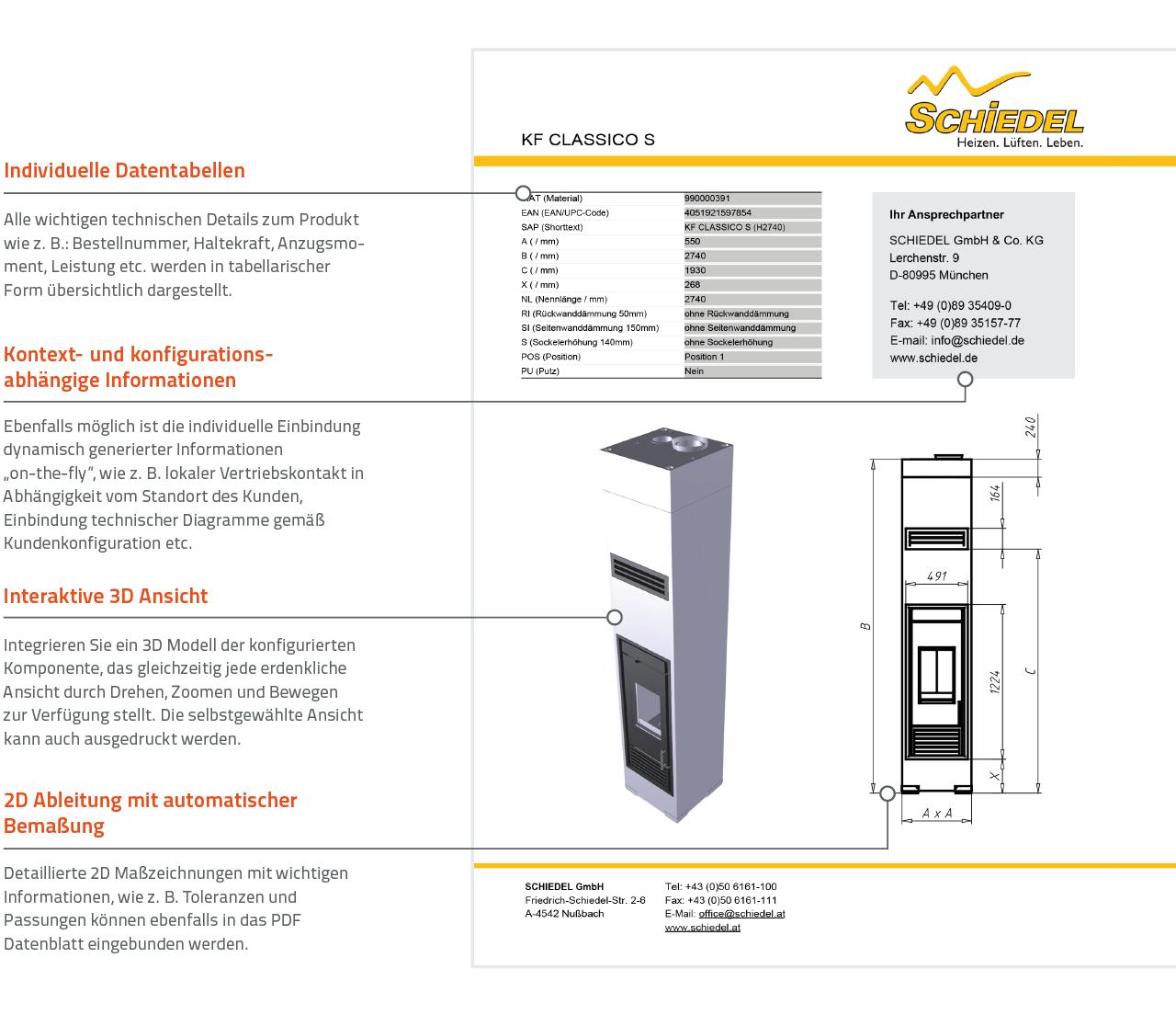 3D PDF Datenblatt