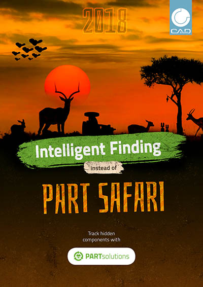Intelligent Finding instead of Part Safari - Track hidden components with PARTsolutions