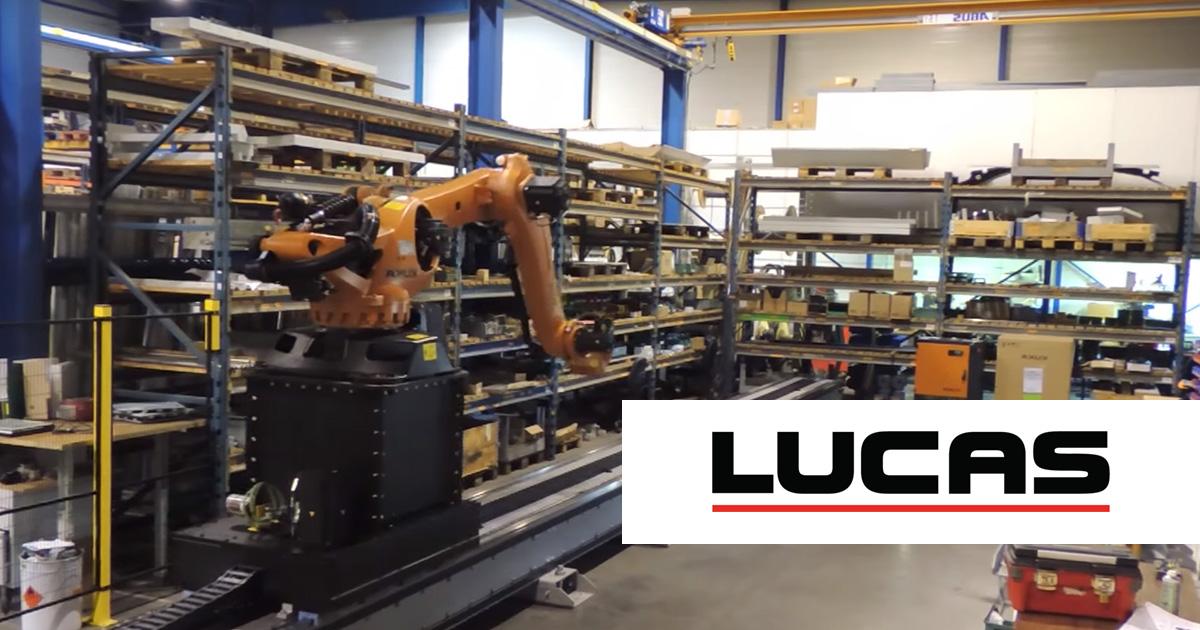 Interaktiver Produktkonfigurator von CADENAS ermöglicht über 22 000 Kombinationen von LUCAS Linearachsen für die Robotertechnik