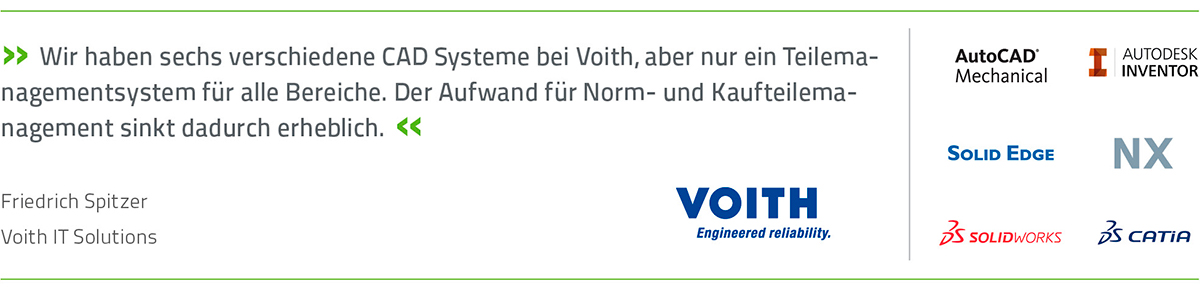 PARTsolutions bei Voith IT Solutions
