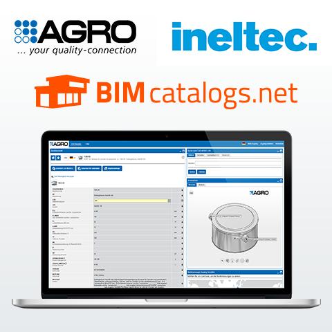 Architekturkomponenten über BIMcatalogs.net von AGRO