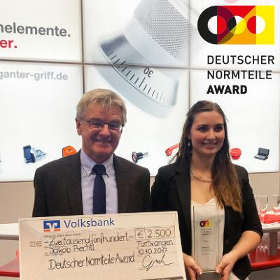 Gewinner des Deutschen Normteile Awards 2017