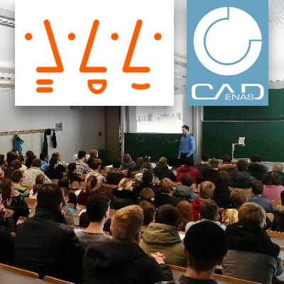 CADENAS bietet angehenden Ingenieuren der Hochschule Augsburg im Rahmen eines CAD Kurses Blick über den Tellerrand