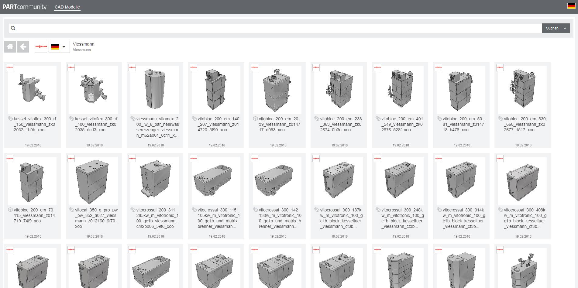 Viessmann geht mit 3D BIM Produktkatalog von CADENAS online