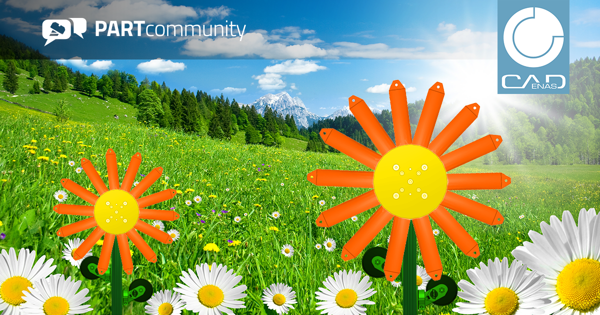 Springtime is a time of growth – 3D CAD downloads of PARTcommunity achieve a record of over 25.9 million in the month