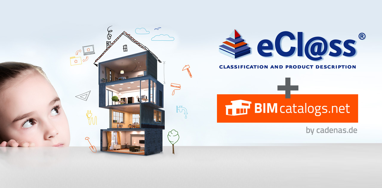 Plan buildings effectively with eCl@ss & BIMcatalogs.net by CADENAS