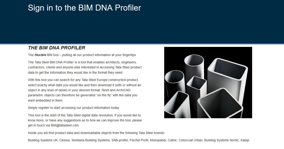 "Tata Steel launches their pioneering BIM tool the ""DNA"
