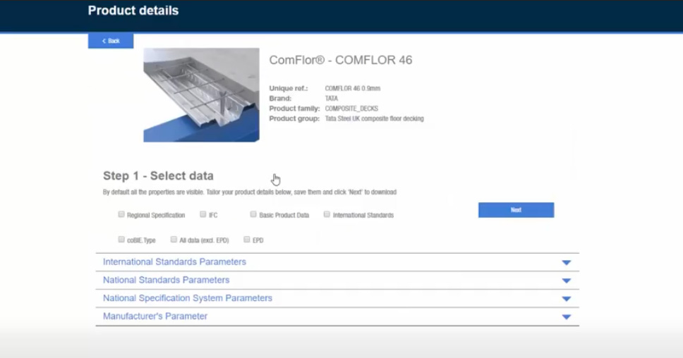 """Tata Steel launches their pioneering BIM tool the """"DNA Profiler"""" and"""