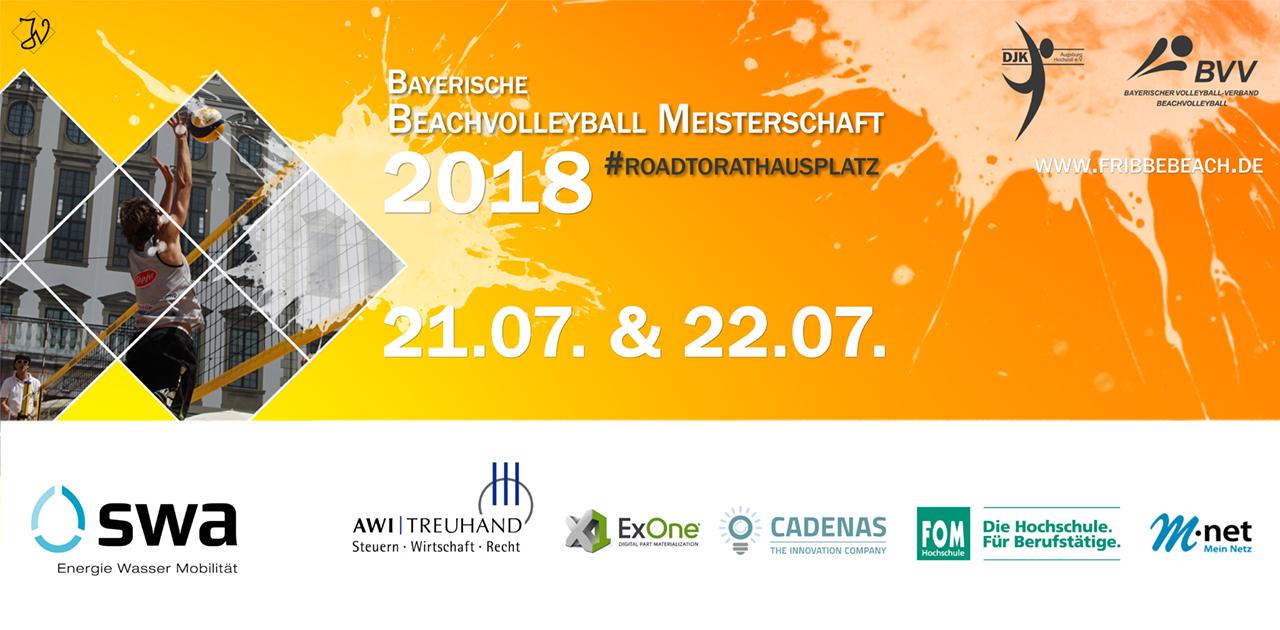 CADENAS als Sponsor der Bayerischen Beachvolleyball Meisterschaft 2018