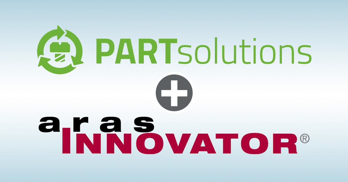 The Strategic Parts Management PARTsolutions by CADENAS is now available in Aras PLM