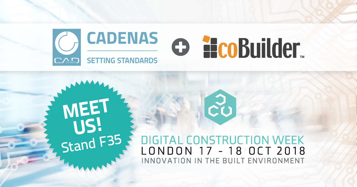 CADENAS & coBuilder at the Digital Construction Week (DCW) 2018