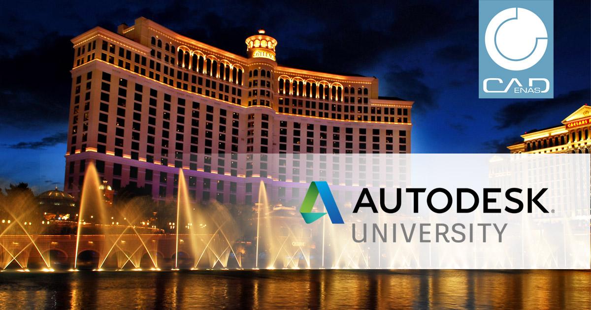 CADENAS als Aussteller auf der Autodesk University in Las Vegas