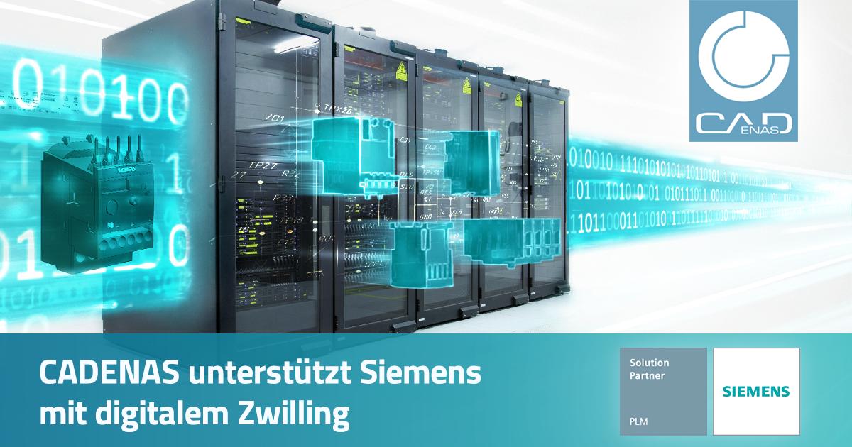 CADENAS unterstützt Siemens mit digitalem Zwilling