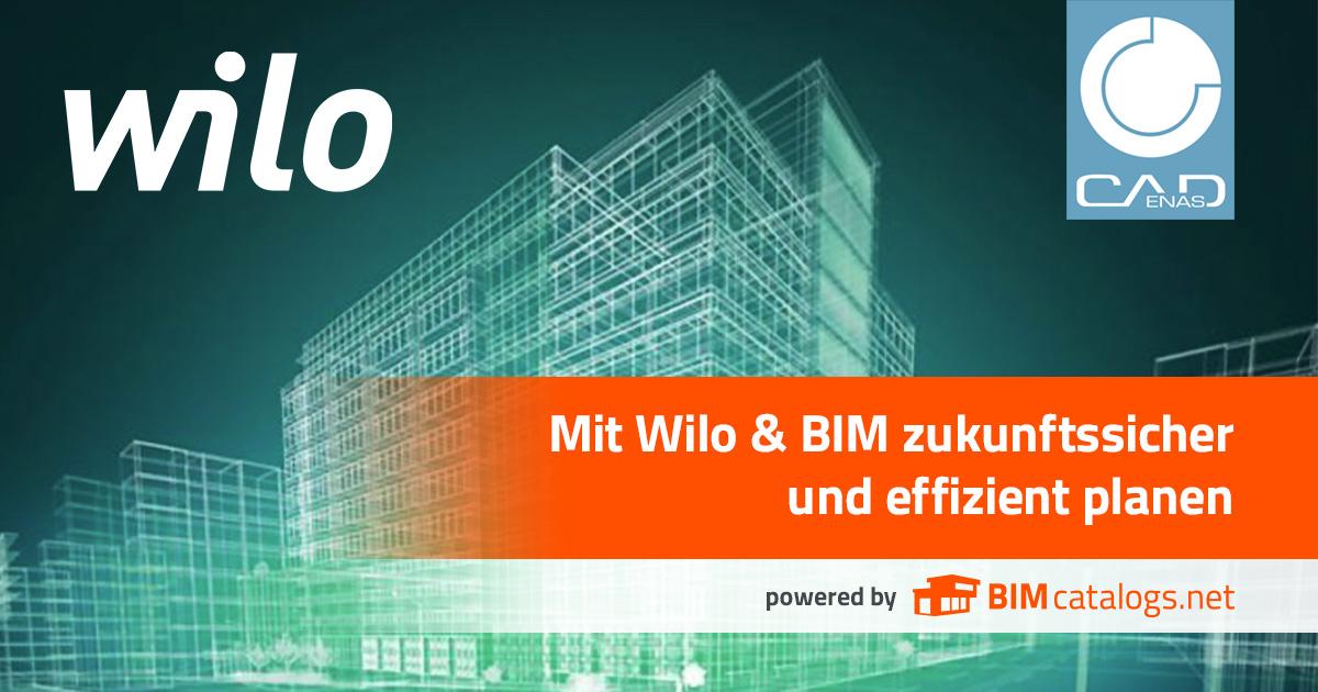 Mit Wilo & BIM zukunftssicher und effizient planen