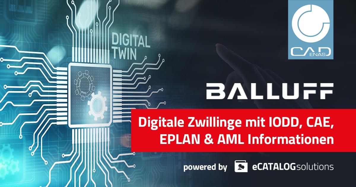 Digitale Zwillinge mit IODD, CAE. EPLAN & AML Informationen