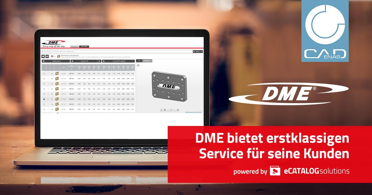 DME bietet erstklassigen Service für seine Kunden