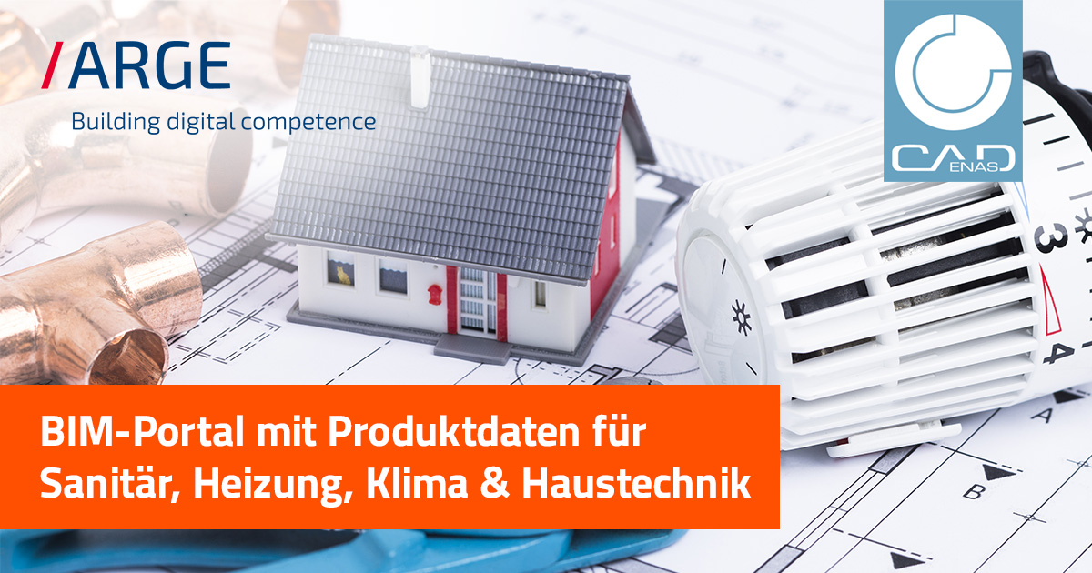 BIM-Portal mit Produktdaten für Sanitär, Heizung, Klima & Haustechnik