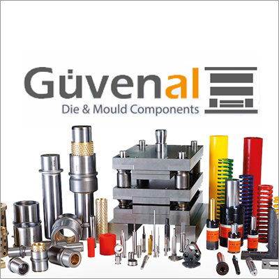 Die and mould components from the Turkish manufacturer Güvenal