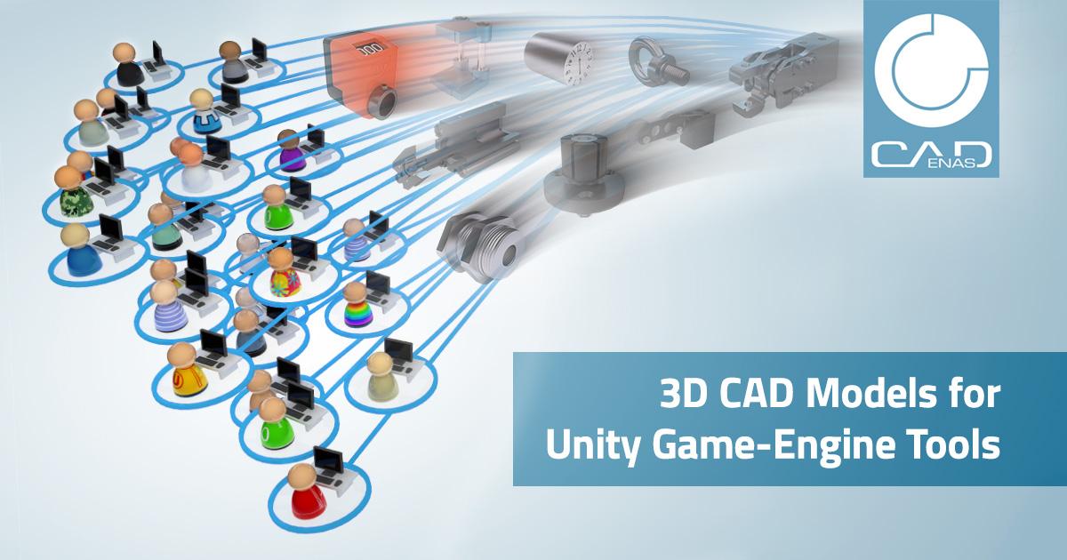 3D CAD Models for Unity Game-Enginge Tools