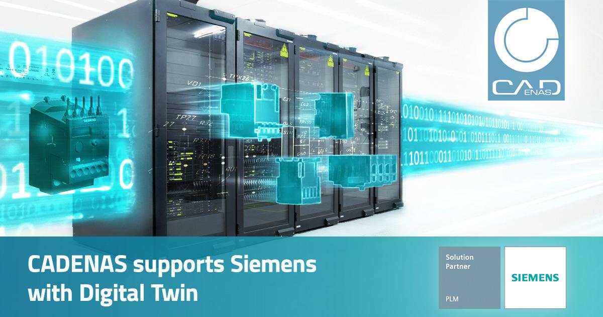 CADENAS supports Siemens with Digital Twin