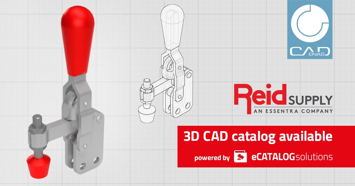 Reid Supply lancia il catalogo online con preview 3D interattiva, datasheet PDF configurabili e download CAD in 150+ formati