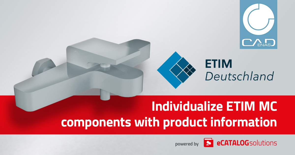 Scopri come personalizzare le tue ETIM MC (Modeling Class) con CADENAS