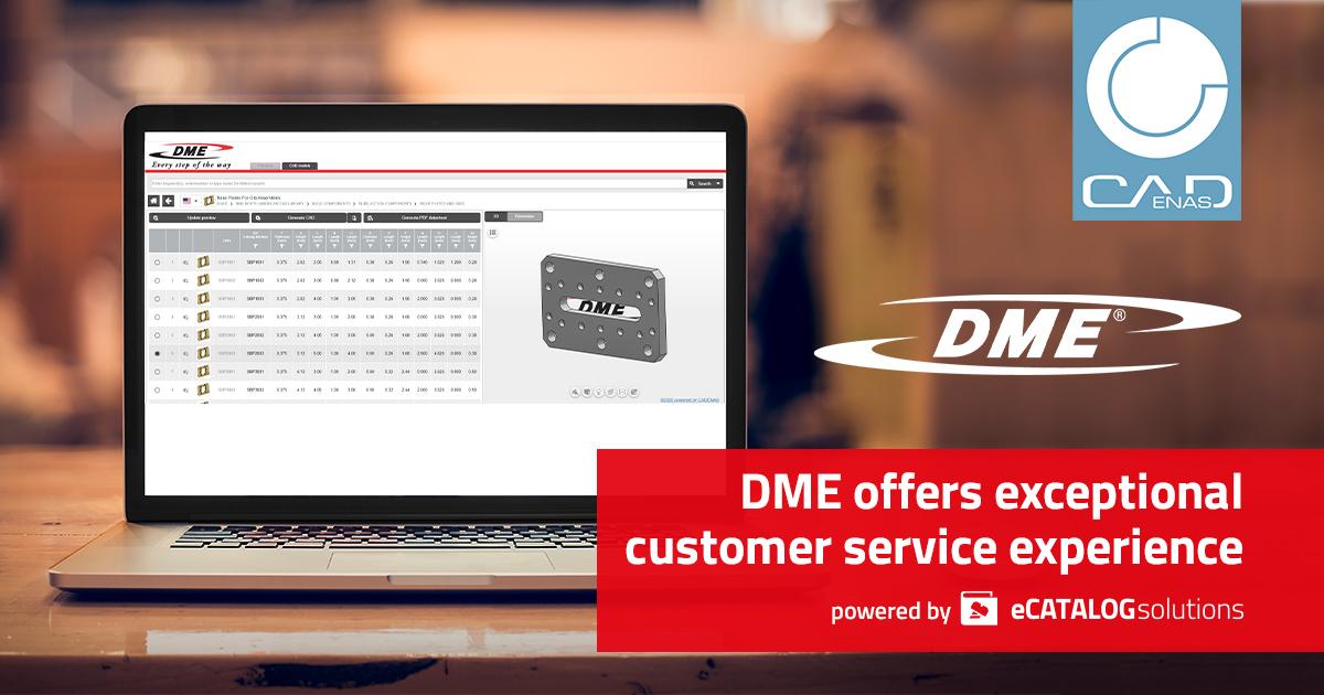 DME Company implementa il configuratore di stampi interattivo sviluppato da CADENAS