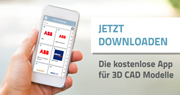 Jetzt downloaden - Die kostenlose App für 3D CAD Modelle
