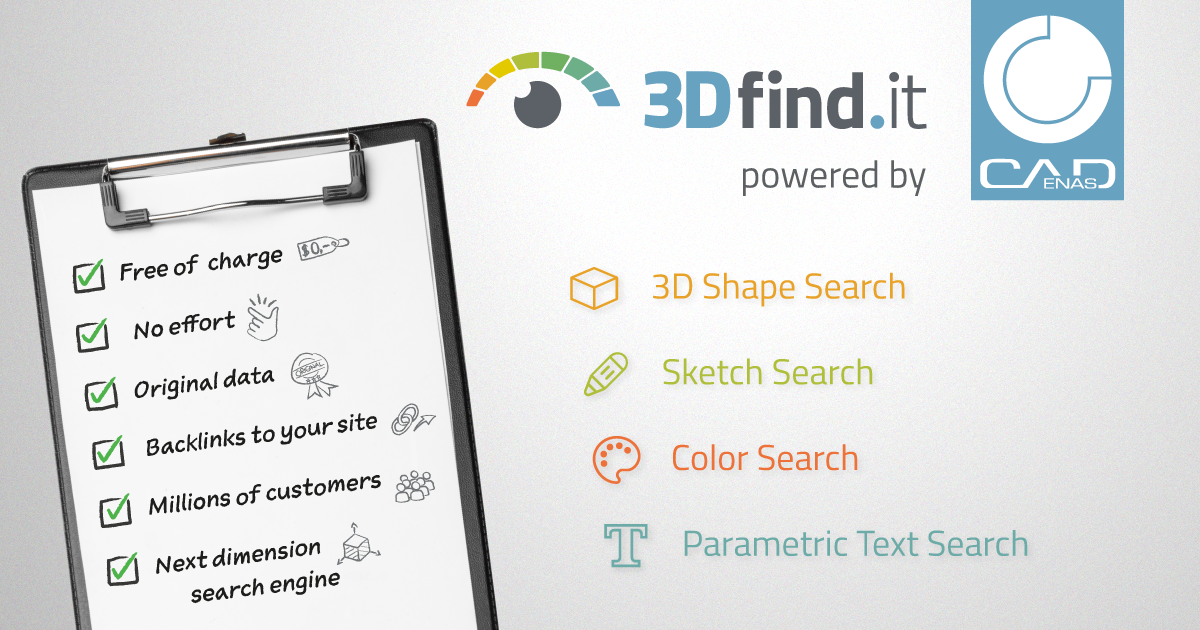 3Dfind.it - Promote your products to 18 Mn Users now