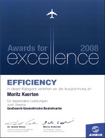 Airbus Award for excellence for GEOsearch
