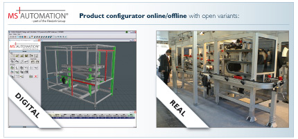 Combine products as easy as pie and create corresponding 3D CAD geometry of the assembly