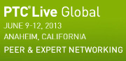 CADENAS auf der internationalen Fachmesse PTC Live Global 2013