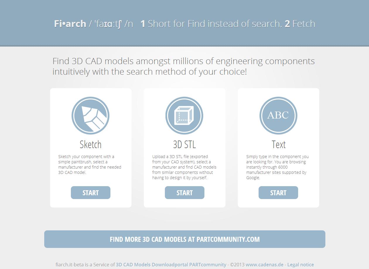 Optimiert für Ingenieure: Fiarch.it - die intelligente technische Suchmaschine