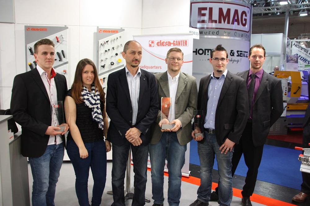 Glückliche Gewinner des Österreichischen Normteile Awards 2014