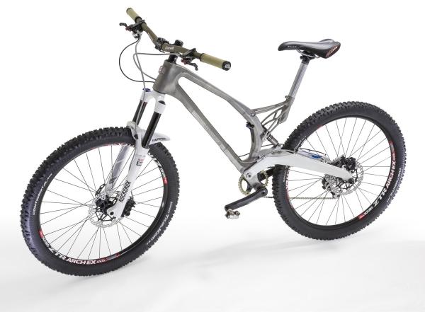 Mountainbikes jetzt noch leichter und stabiler: Erster Fahrradrahmen aus 3D Drucker