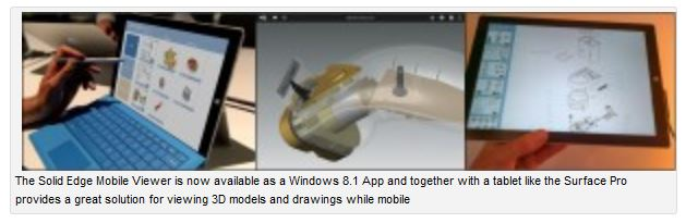 Siemens PLM Software Blog: Mobile apps for designers and