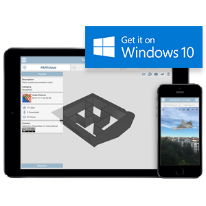 partcloud app windows 10