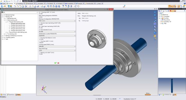 By providing excellent-quality 3D CAD models, approved and certified by their suppliers, directly into TopSolid via a web service, CADENAS and Missler Software allow designers to produce their projects more quickly.