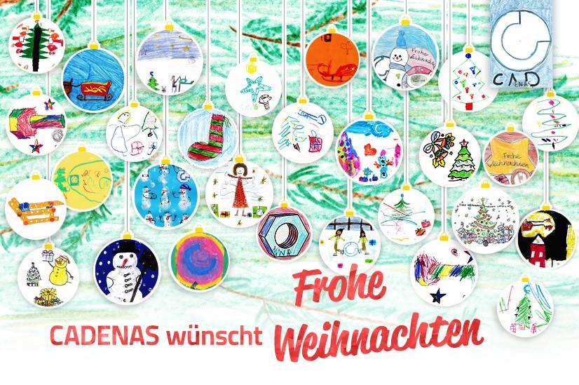 28 Kinder als Nachwuchskünstler zur Weihnachtszeit für CADENAS