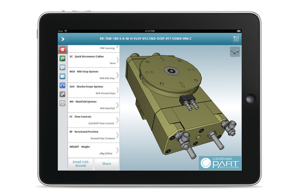 Mobile Cad App Partsolutions Technology Featured In Oem